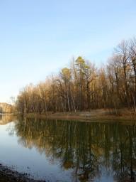 Красный пруд в Измайловском парке
